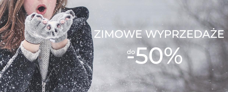 Największe wyprzedaże tej zimy. Promocje na ponad 1500 produktów.