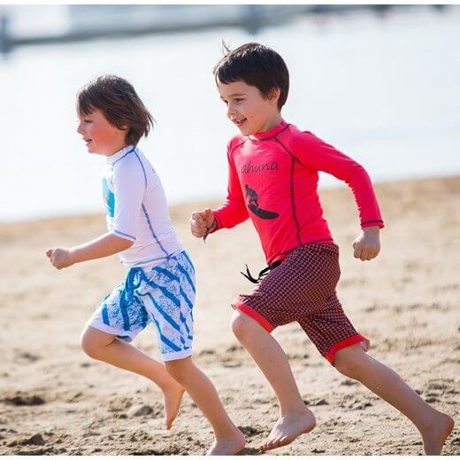 Odzież plażowa z filtrem UV  dla dzieci