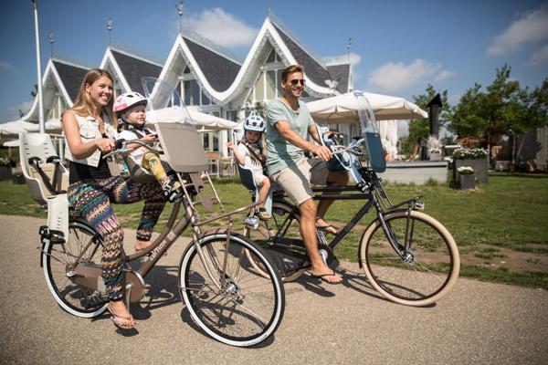 Foteliki rowerowy na przód