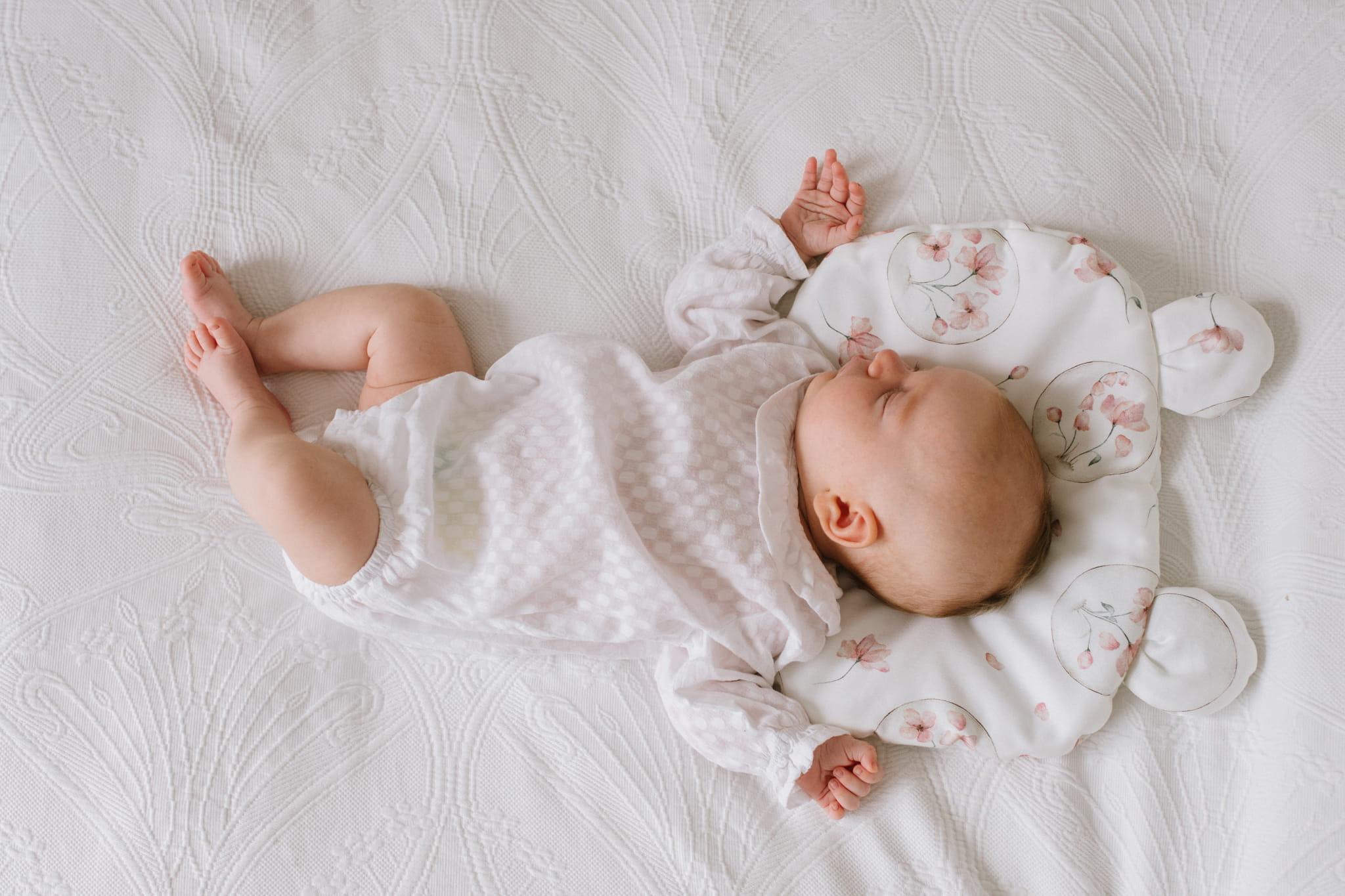 Poduszki dla niemowląt płaskie