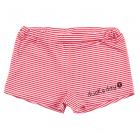 DUCKSDAY kąpielówki dziewczęce UV50 RED STRIPE 02