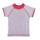 DUCKSDAY koszulka UV50 dziewczęca DOT 02Y