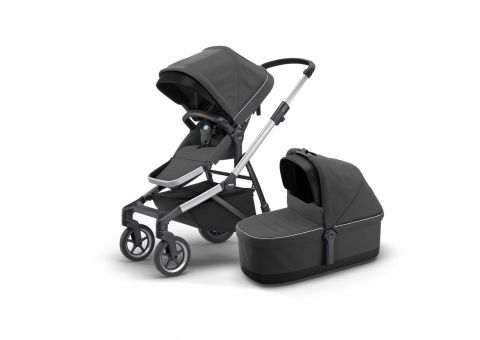Thule Sleek - zestaw spacerówka + gondola Grey