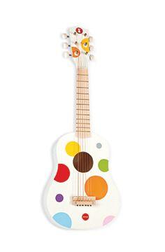 Gitara dla dzieci - drewniana Janod