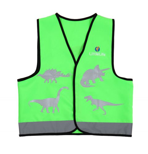 Kamizelka odblaskowa LittleLife Dinozaur - Mała