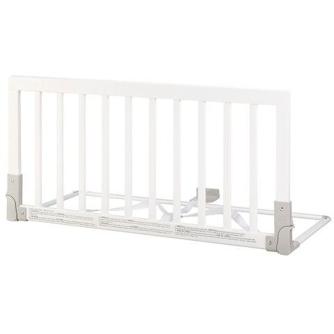 Barierka ochronna łóżka Baby Dan - drewniana biała