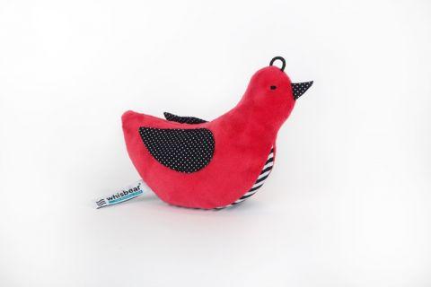 WHISBEAR ptaszek czerwony