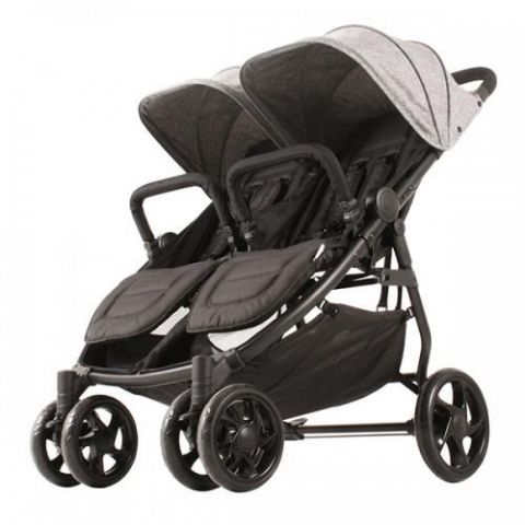 Wózek dla bliźniąt XINN Twin Kekk grey