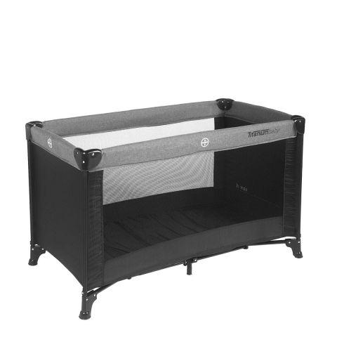 Titanium Baby Łóżeczko tutystyczne black/grey