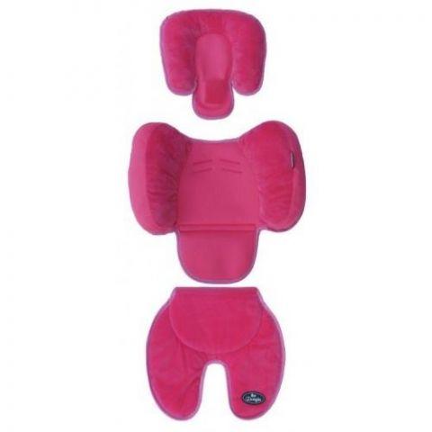 Bo Jungle B-Snooze 3 w 1 poduszka /wkładka pink