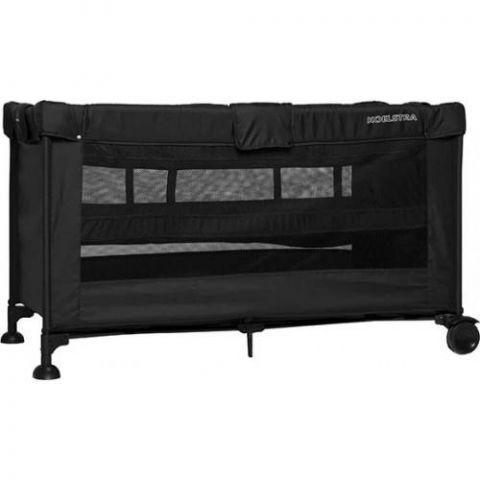 Łóżeczko turystyczne T5 Luxe 2-poziomy black