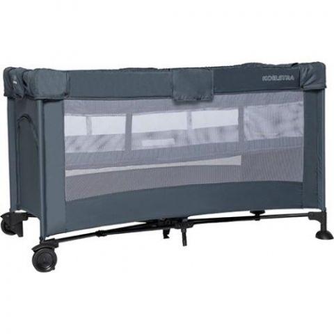 Łóżeczko turystyczne T5 Luxe 2-poziomy grey