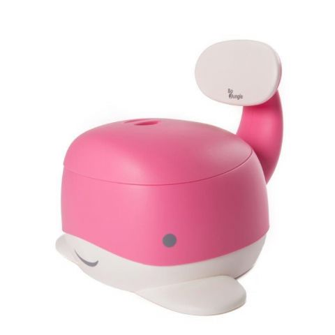 Bo Jungle B-Nocnik wieloryb Pink