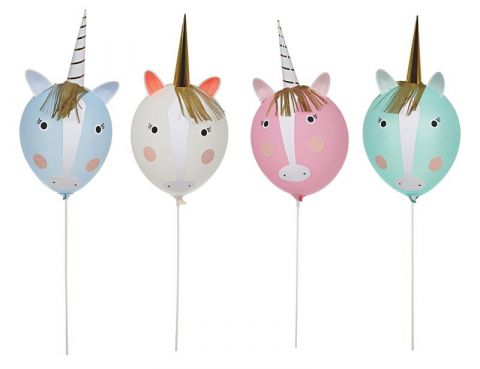 Meri Meri Zestaw balonów Jednorożec