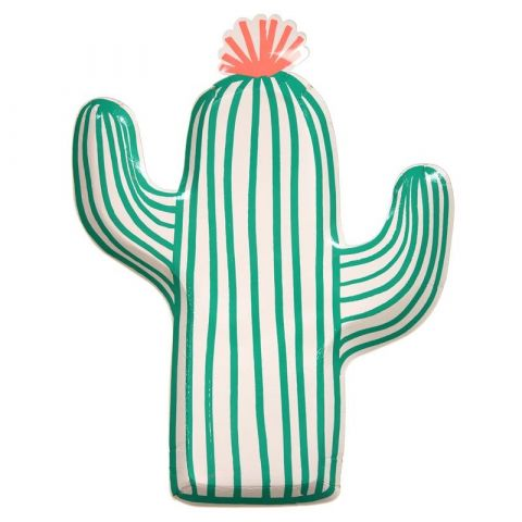 Meri Meri Talerzyki Kaktus