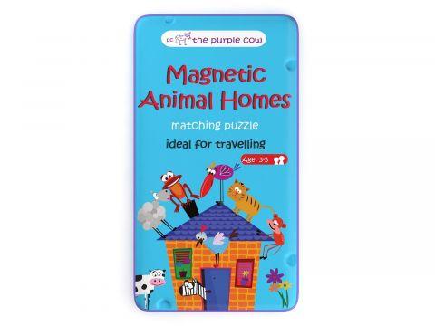 The Purple Cow Gra magnetyczna Puzzle Zwierzęta