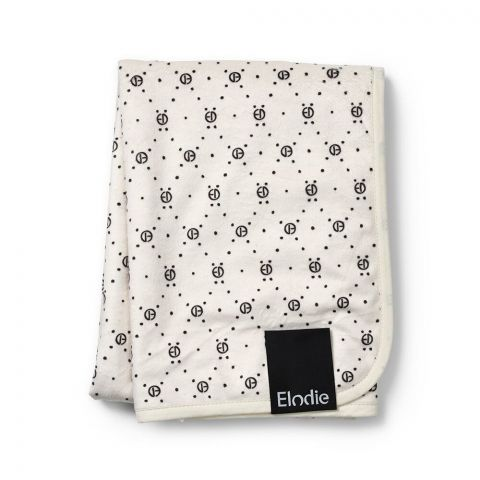 Elodie Details - Kocyk Pearl Velvet Monogram