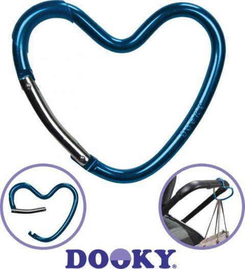 Dooky Hak i zaczep do wózka serce