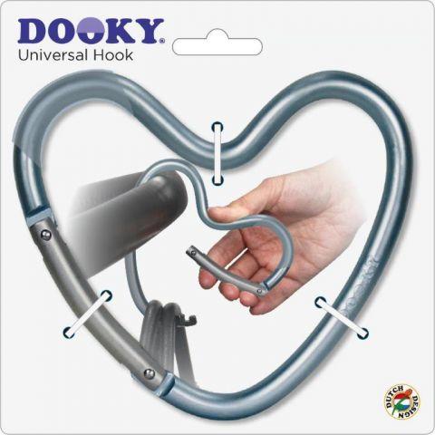 Dooky Haczyk do wózka serce
