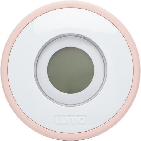LUMA Cyfrowy termometr do kąpieli Cloud Pink