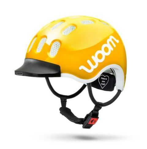 Dziecięcy kask rowerowy WOOM Żółty