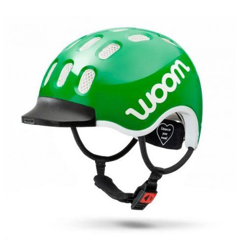 Dziecięcy kask rowerowy WOOM Zielony