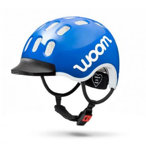 Dziecięcy kask rowerowy WOOM Niebieski