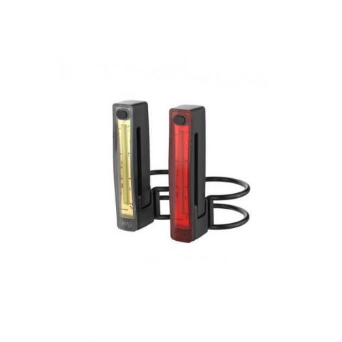 Lampa Knog Plus Twinpack przód+tył czarny