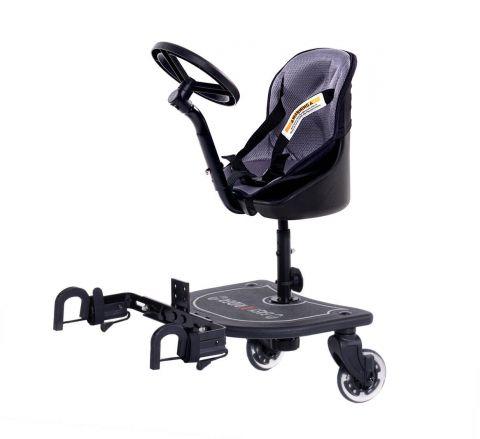 Dostawka do wózka Easy X Rider V1 z kierownicą