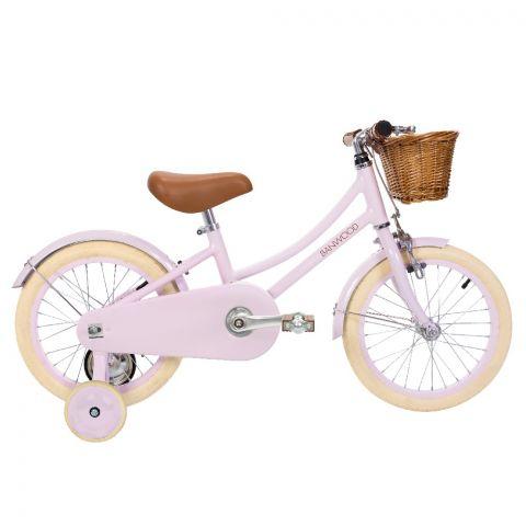 rowerek różowy 16''
