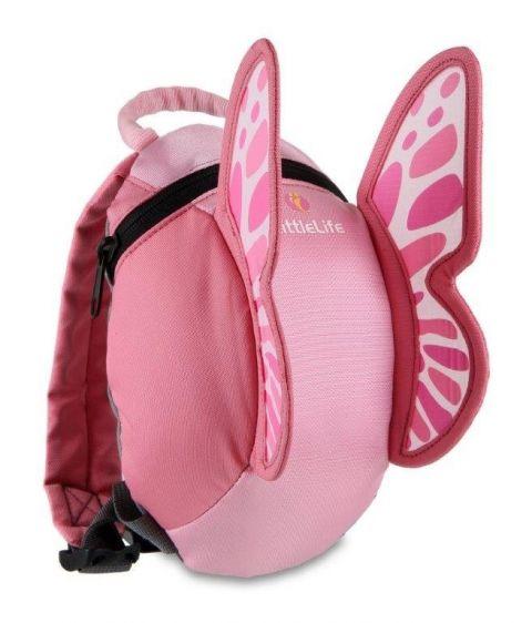 LittleLife plecak Animal - MOTYLEK 1-3 lata
