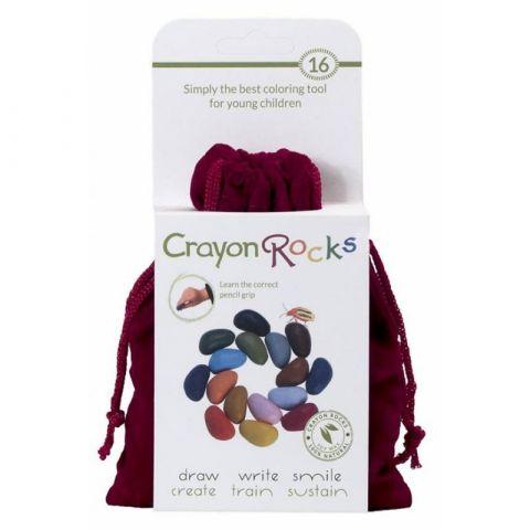 Crayon Rocks kredki w aksamitnym woreczku
