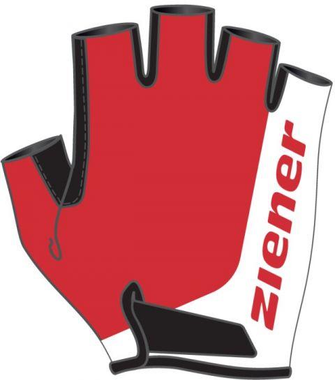 Ziener rękawiczki Corrie Junior Red M