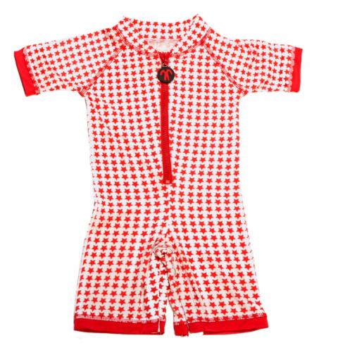 DUCKSDAY 1-częściowy strój kąpielowy UV50 STAR 02