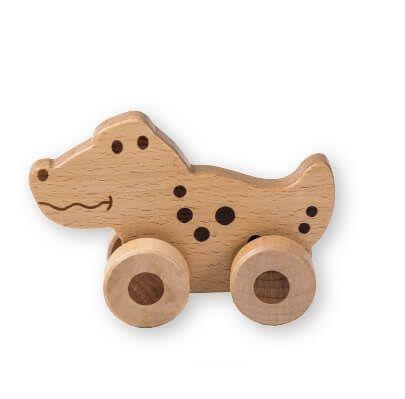 Joueco Drewniane zwierzątko bez koloru