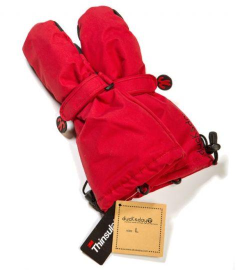 DUCKSDAY rękawiczki Red medium