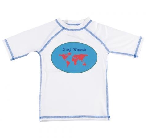 DUCKSDAY koszulka UV50 chłopięca SURF NOMAD 08Y