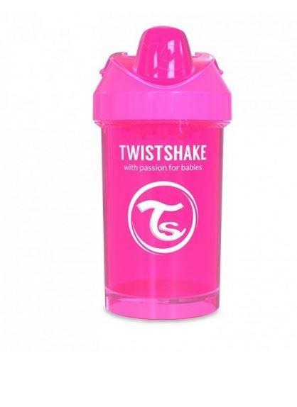 Twistshake - Kubek niekapek z mikserem różowy