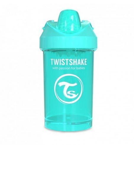 Twistshake - Kubek niekapek z mikserem turkusowy