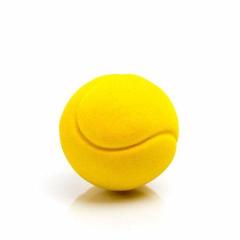 Rubbabu Piłka tenisowa żólta mała