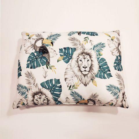 Pol Owl Poduszka z wypełnieniem 40x30 Grey Lion