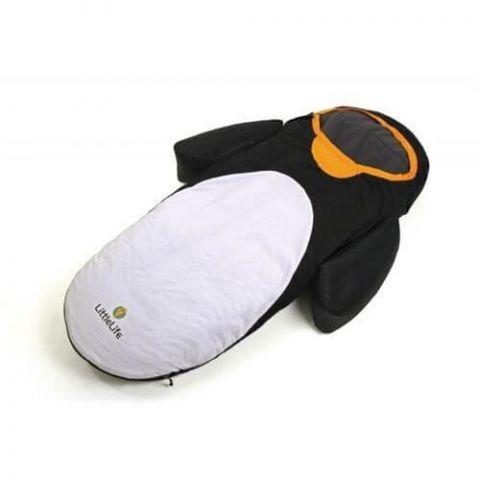 Łóżeczko turystyczne ze śpiworem Pingwin LittleLife
