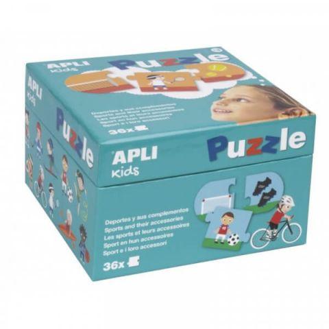 Apli Kids Puzzle dla dzieci Sporty 3+