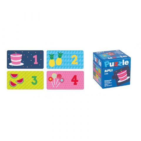 Apli Kids Puzzle dwuczęściowe Liczby 3+