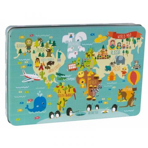 Apli Kids Puzzle XL Mapa świata 3+