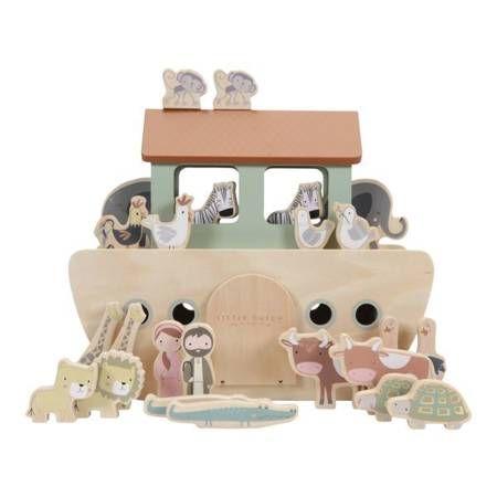 Arka Noego zabawka drewniana dla dzieci Little Dutch