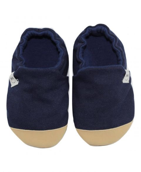 Baby Bisous Papcie Navy Peony
