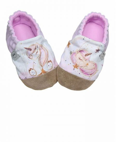 Baby Bisous Slippers Sweet Unicorn