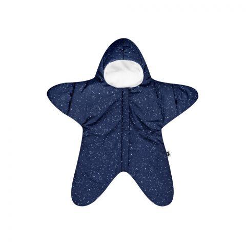 Baby Bites Kombinezon letni Star (3-6 miesięcy) Navy Stars