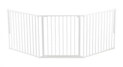 biała Bramka ochronna Baby Dan FLEX L